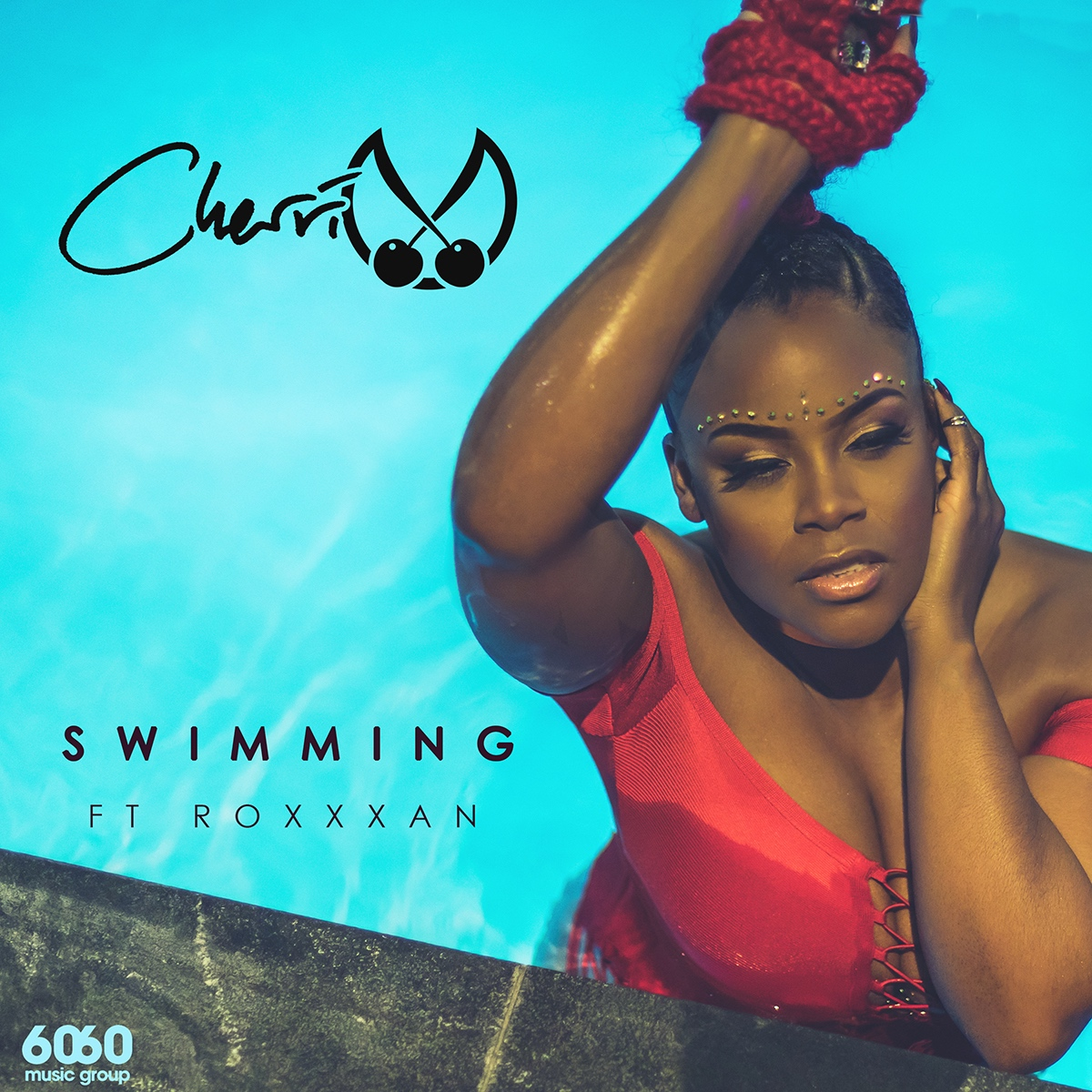 Cherri V Swimming Artwork
