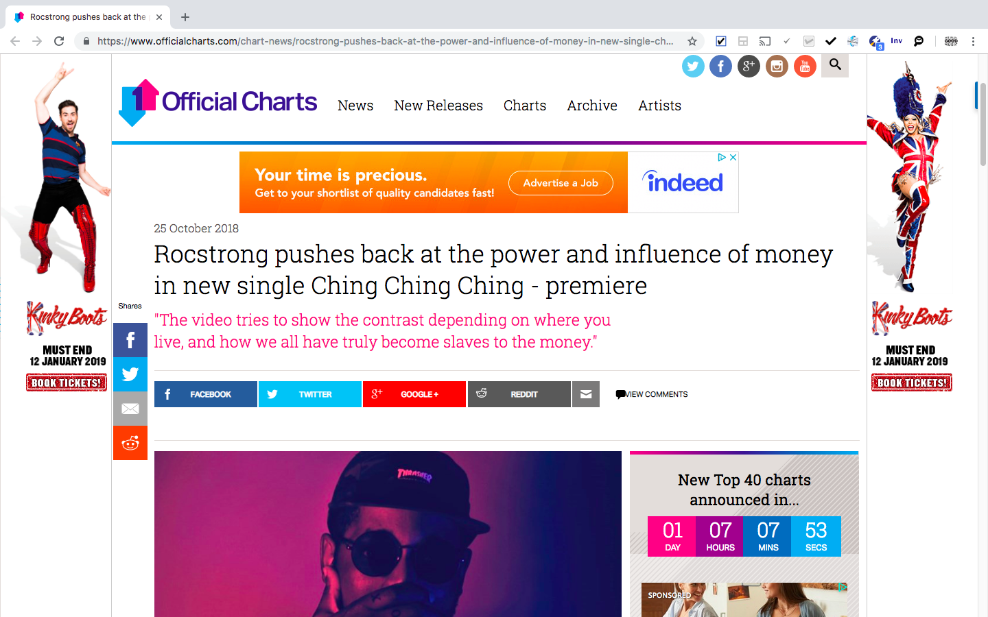 Rocstrong x Official Charts